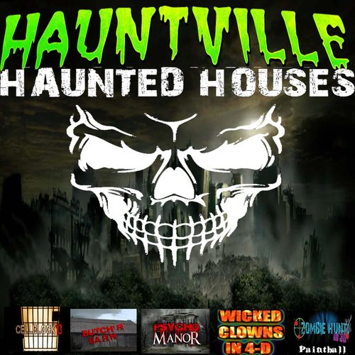 Hauntville Haunted Houses poster
