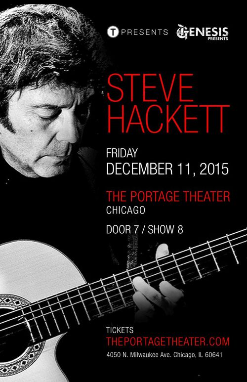 Steve Hackett of Genesis (Performing Genesis Classics & More) poster