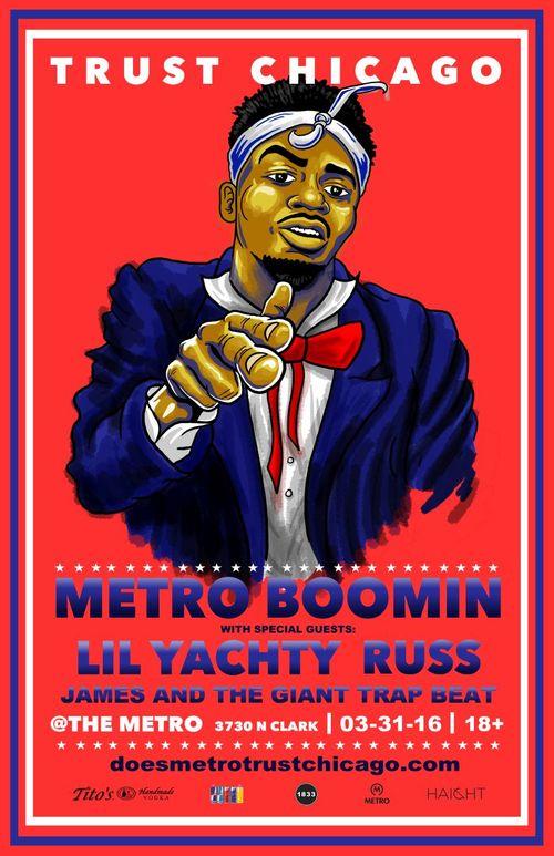 Metro Boomin poster