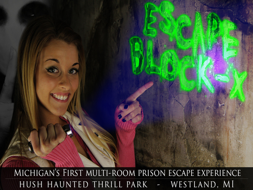 HUSH Escape Experience - Escape Block-X image