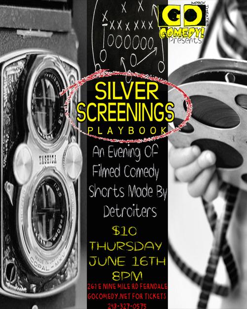 Silver Screenings Playbook poster