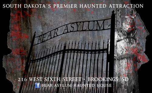 Fear Asylum Haunted House poster