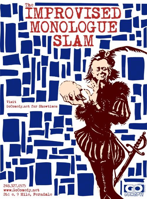 The Improvised Monologue Slam image