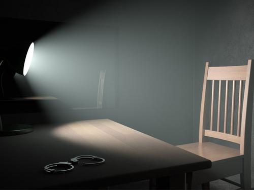 Interrogation poster