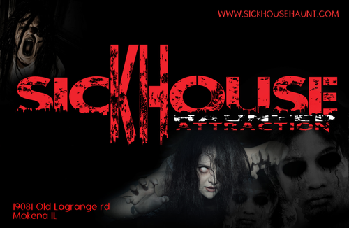 Sickhouse Haunted Attraction poster