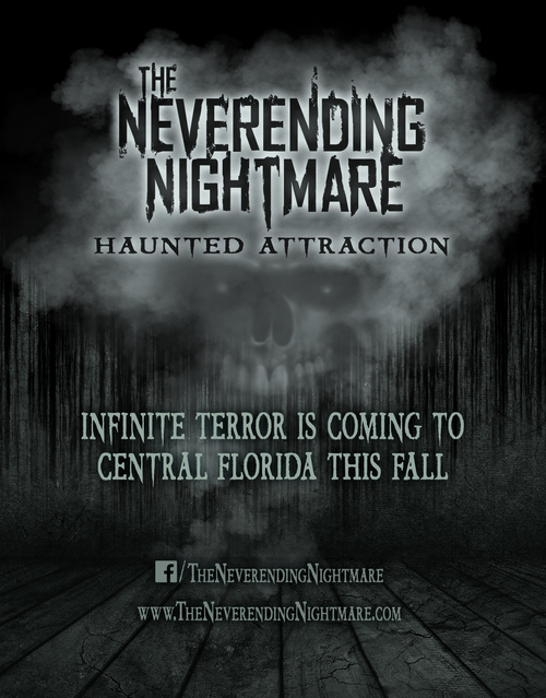 The Neverending Nightmare Haunted Attraction poster