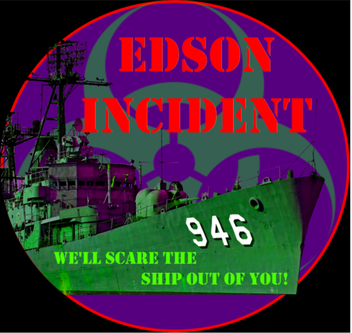 Edson Incident poster