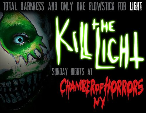Chamber of Horrors - Kill the Light poster