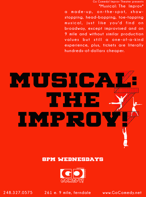 Musical! The Improv poster