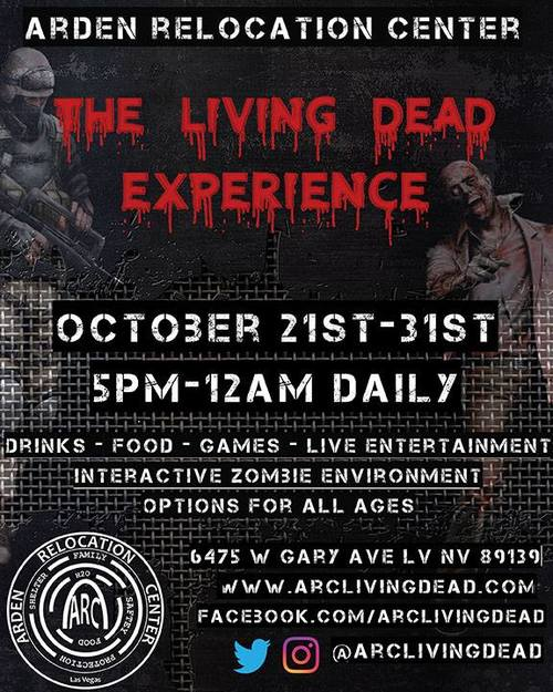 ARC: The Living Dead Experience poster