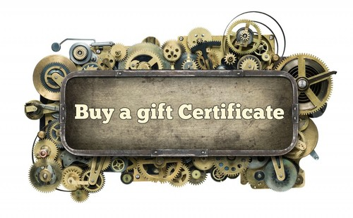 Gift Certificate poster