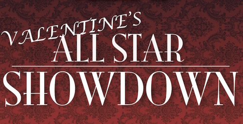 Valentine's Day Dinner & Showdown poster