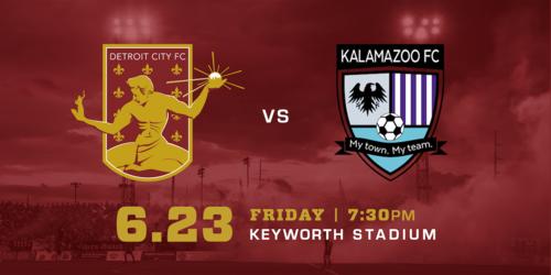 Detroit City FC vs Kalamazoo FC image