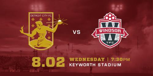 Detroit City FC vs Windsor TFC image