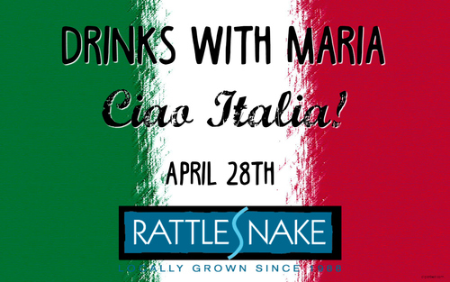 Drinks with Maria // Ciao Italia! poster