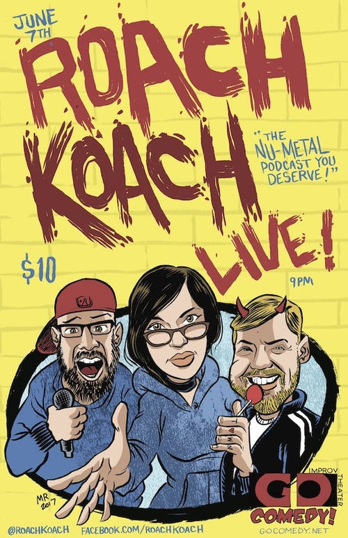 Roach Koach Live poster