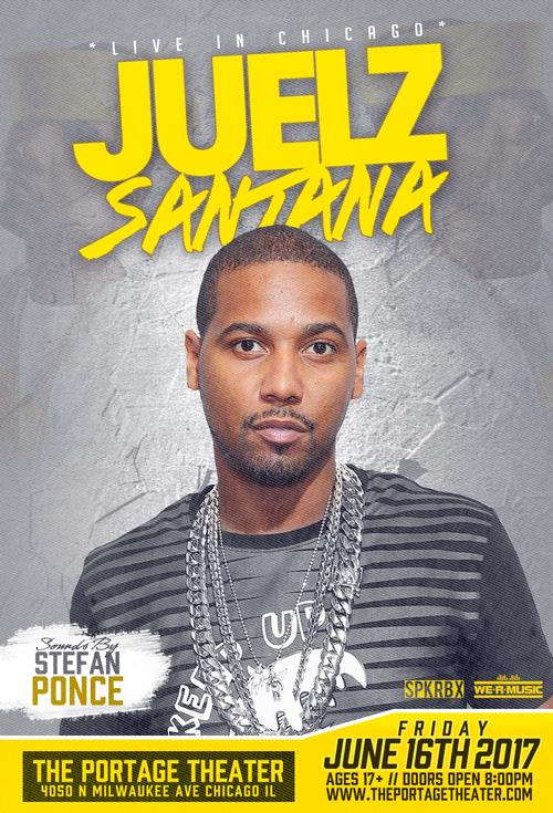 JUELZ SANTANA poster
