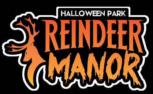 Reindeer Manor Halloween Park poster