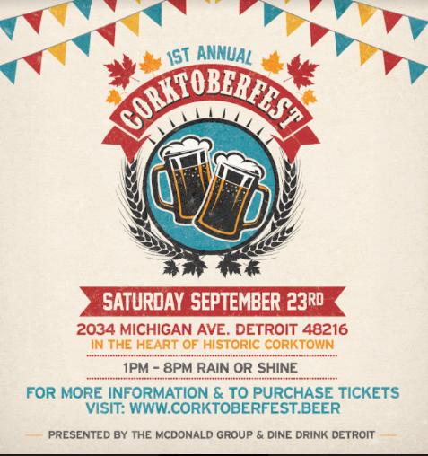 CorktoberFest 2017 poster