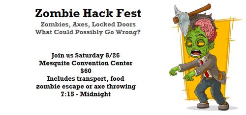 Zombie Hack Fest poster