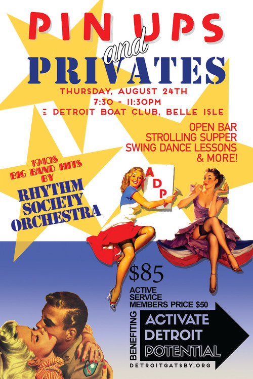 Pin Ups & Privates poster