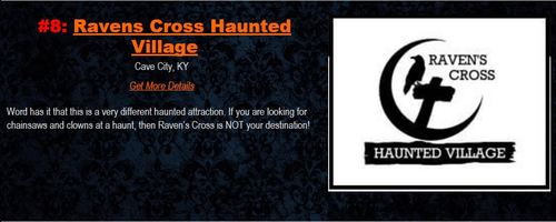 RAVEN'S CROSS HAUNTED VILLAGE image