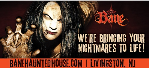 BANE Haunted House!! NJ's Premier Haunted Attraction  poster