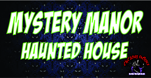 Mystery Manor Haunted House (All ages) Kids version poster