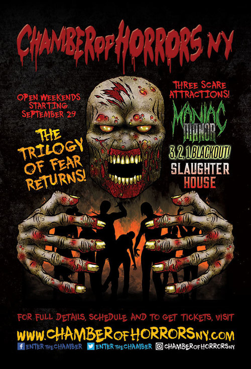 Chamber of Horrors NY - Trilogy of Fear (Fri/Sat. & select dates) poster