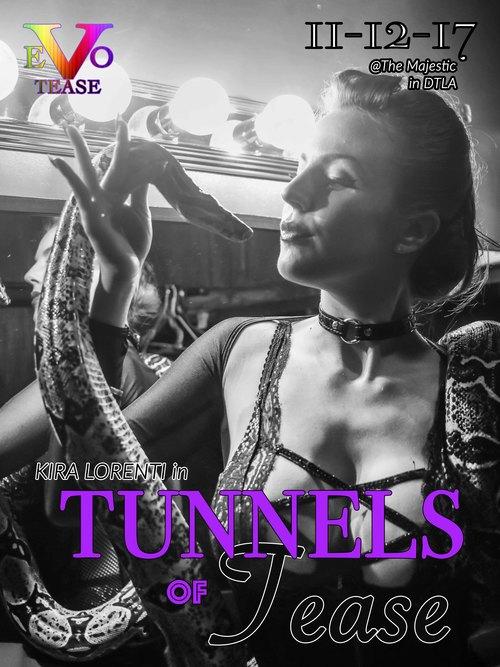 """TUNNELS OF TEASE"" A Prohibition-Era Burlesque Escape image"