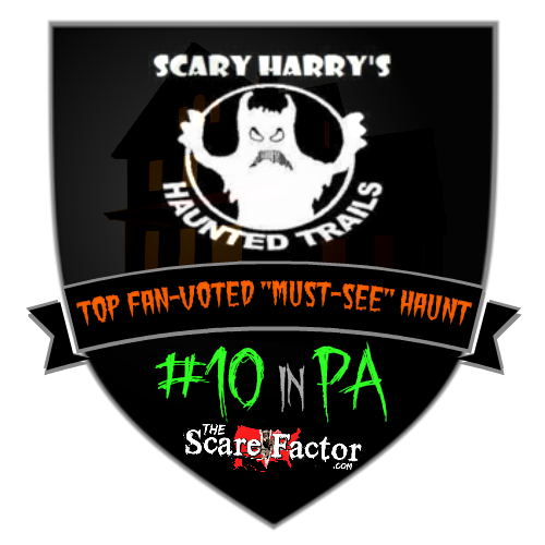 Scary Harry's Haunted Trail 2017 poster