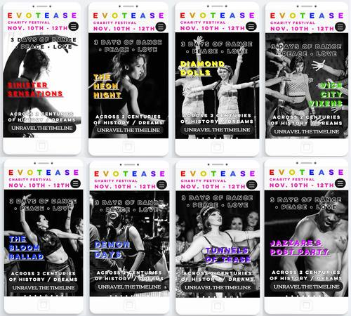 EvoTease Dance Charity Festival - Day/Weekend Passes image