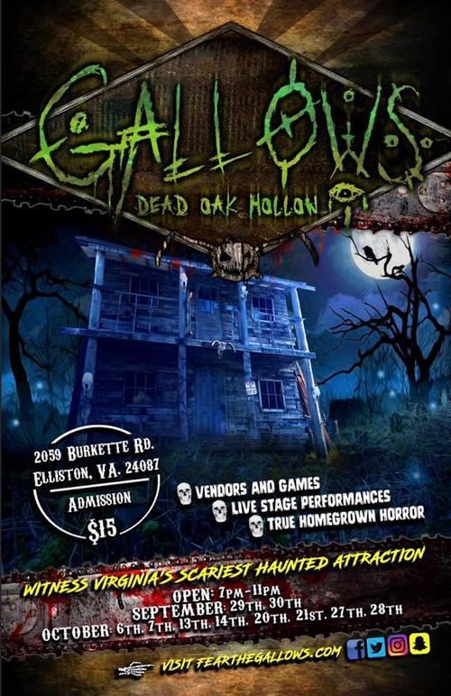 Gallows Dead Oak Hollow poster