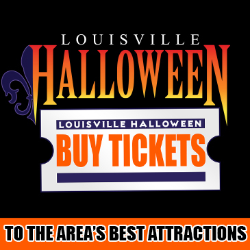 Louisville Halloween Event TIcketing poster