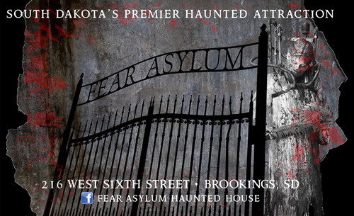 Fear Asylum Haunted House poster