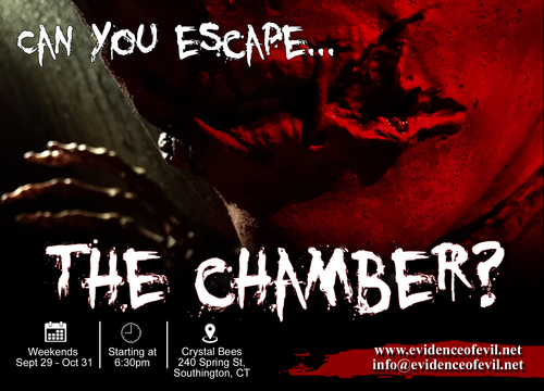 Evidence of Evil Presents 'The Chamber' @ Crystal Bees poster