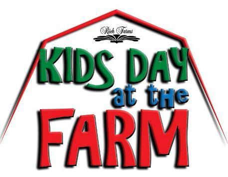 Kids Day at the Farm  2017 poster