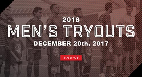 LR Rangers Men's Open Tryout poster