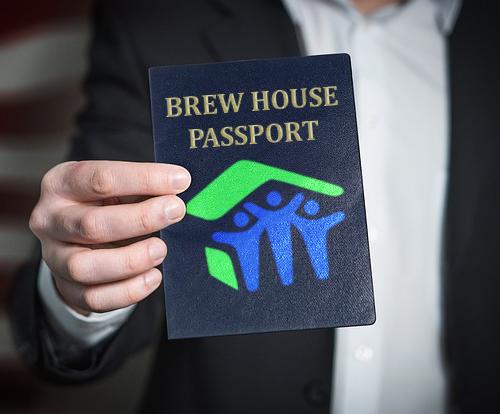 2017 Brew House Passport poster