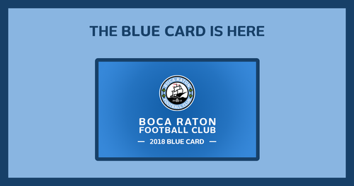2018 Season Passes NPSL - Blue Card image