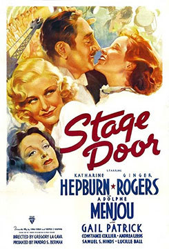 Stage Door at the Senate Theater poster