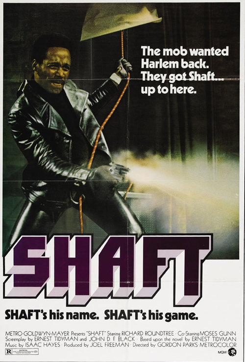 Shaft at the Senate Theater poster