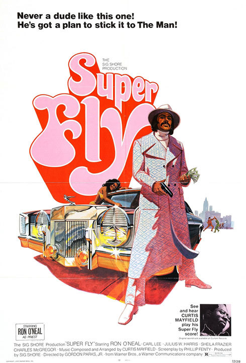 SuperFly at the Senate Theater poster