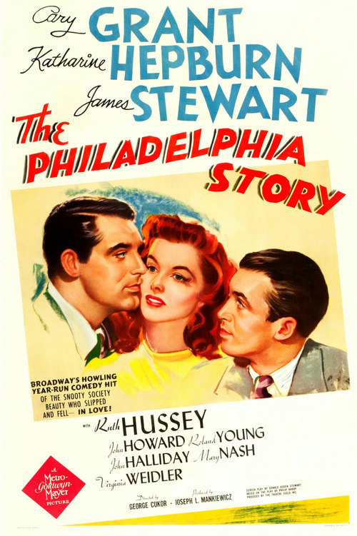 The Philadelphia Story at the Senate Theater poster