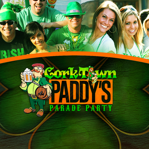 Corktown Paddy's Parade Party poster