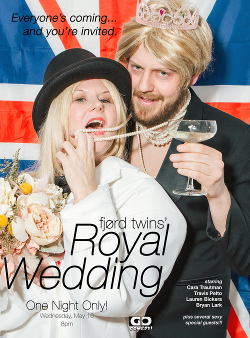 The Fjord Twins' Royal Wedding poster