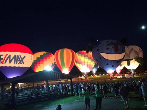 28th Annual Hudson Valley Hot-Air Balloon Festival image