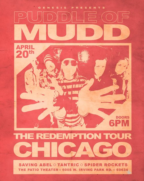Puddle of Mudd | Saving Abel | Tantric & More | Event