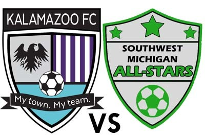 Kalamazoo FC vs. SW Michigan All-Stars poster