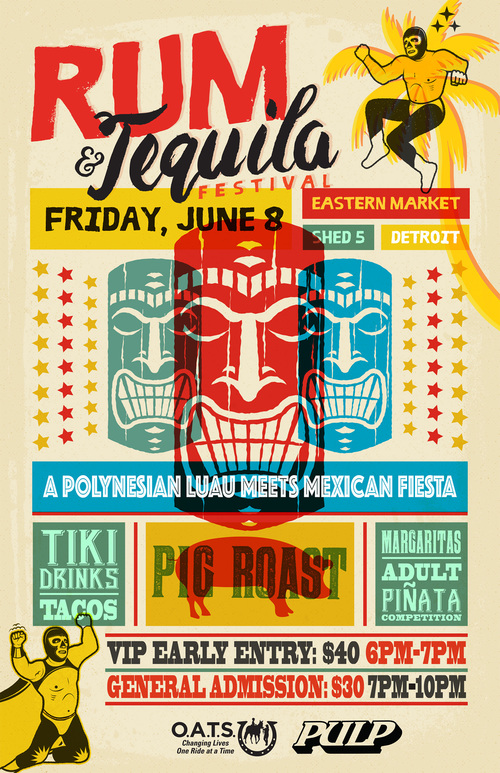 Rum & Tequila Festival poster